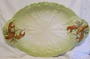 Carlton Ware Lobster Very Large Serving Dish - 1950s